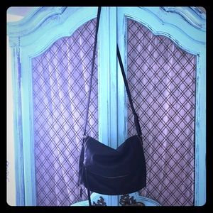 Simple, stylish black purse